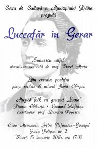 Afis A3 Luceafar in Gerar 197x300 Luceafăr în Gerar