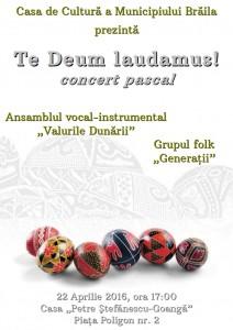 Afis A3 concert paste 212x300 Te Deum laudamus!