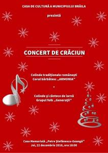 Concert Craciun 212x300 Concert de Crăciun