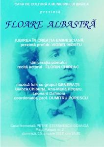 Afis Floare albastra 15 ianuarie 1 212x300 Floare albastră