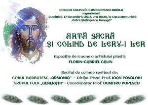 Afis nou Copy 1 300x212 Artă sacră și colind de leru i ler