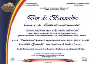 Afis Dor de Basarabia 300x212 Dor de Basarabia