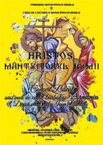 CONCERT PASCAL 212x300 Hristos, mântuitorul lumii!