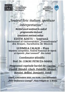AFIS recital Edith Adetu 212x300 Teatrul liric italian: ipostaze interpretative